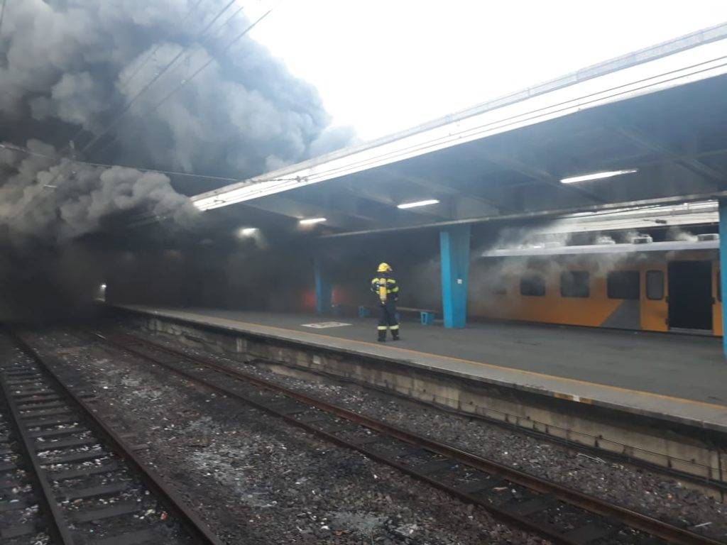 Prasa works to apprehend train fire suspects