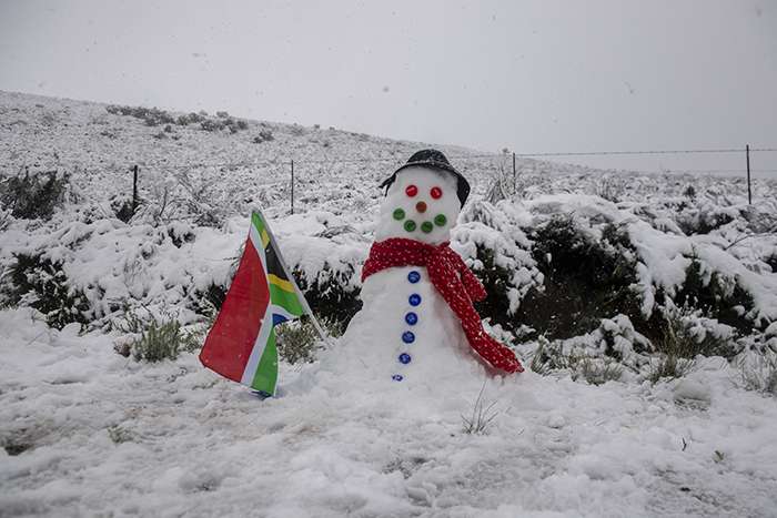 More snow for the Western Cape