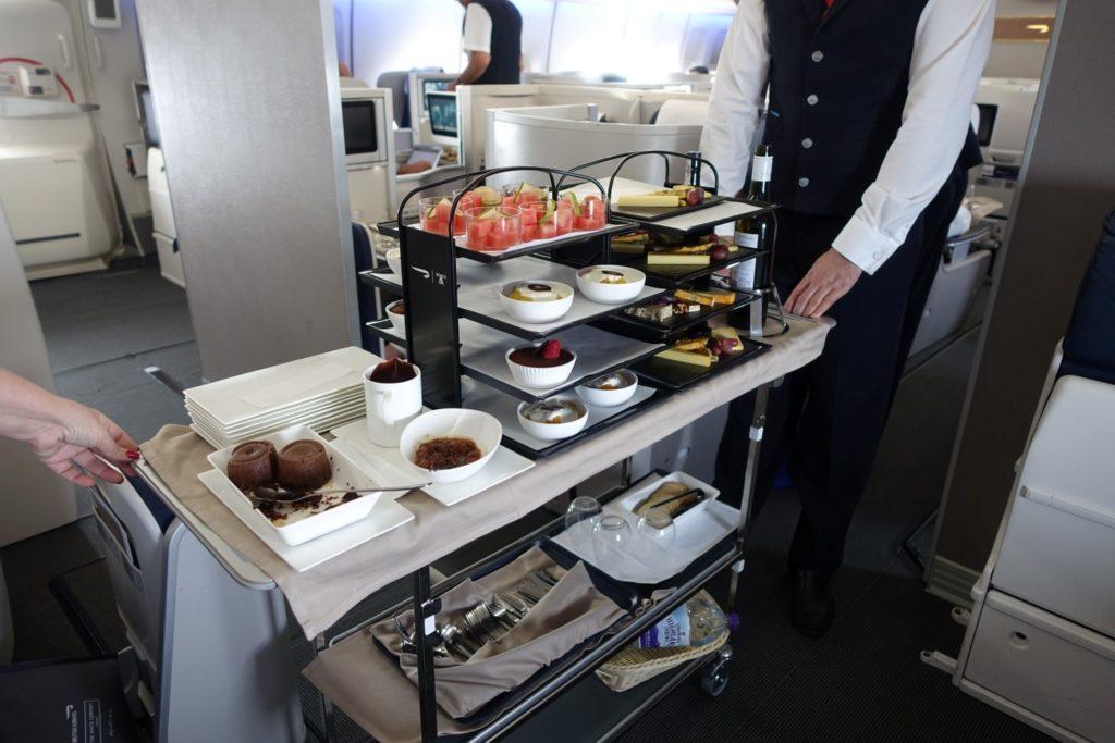 British Airways elevates food on SA flights