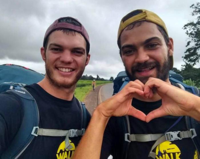 Capetonians walk 6000km for charity