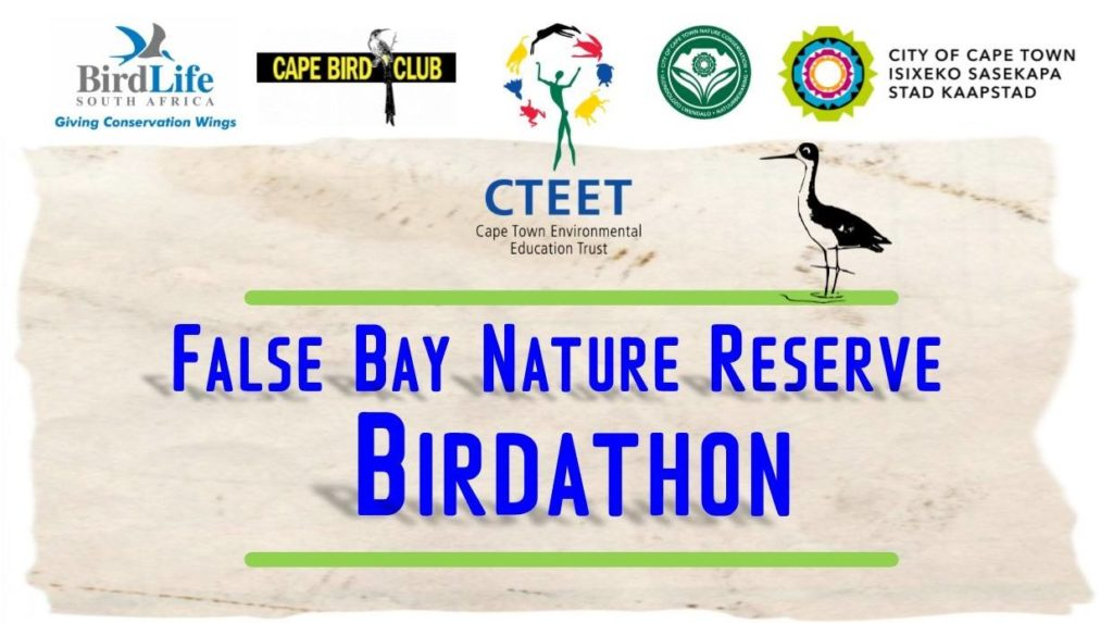 False Bay Nature Reserve Birdathon