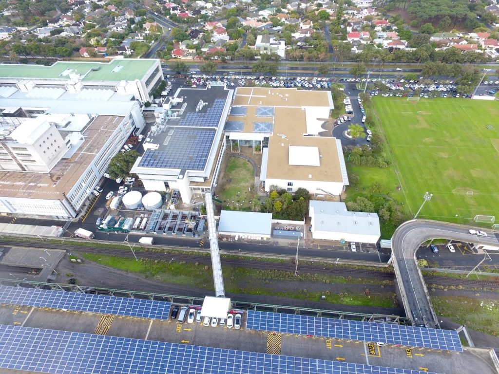 Cape Town's biggest office park goes off water grid