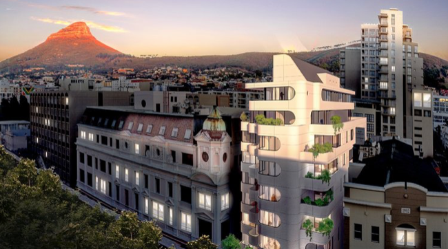 Modern apartments planned for Cape CBD