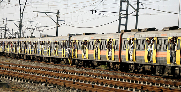Passengers stabbed and thrown off moving train
