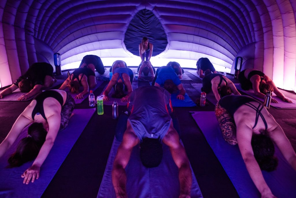 First Hotpod Yoga studio opens in Cape Town
