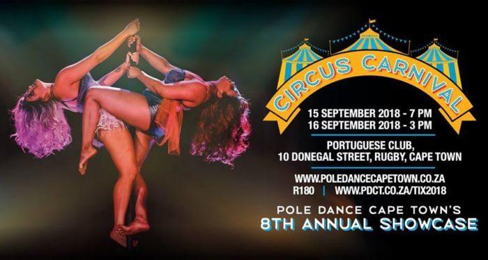 Pole Dance Cape Town's 8th Annual Showcase - Circus Carnival