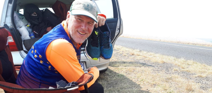 'Crazy' Dave runs from Nelspruit to Cape Town