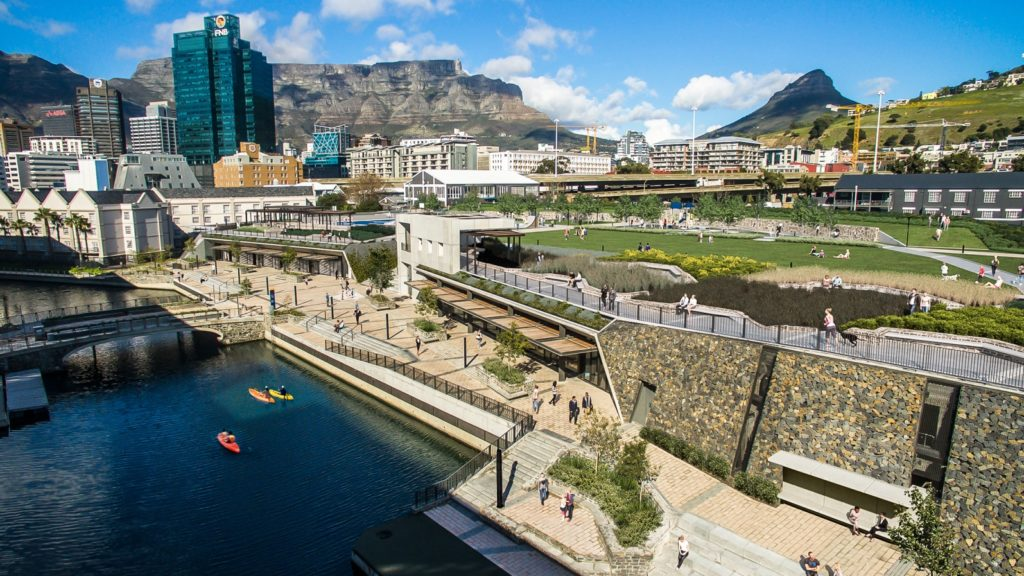 V&A Waterfront's brand new urban park