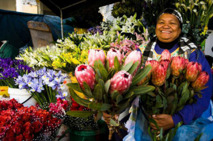 Cape Town's flower market memorial undergoes revamp