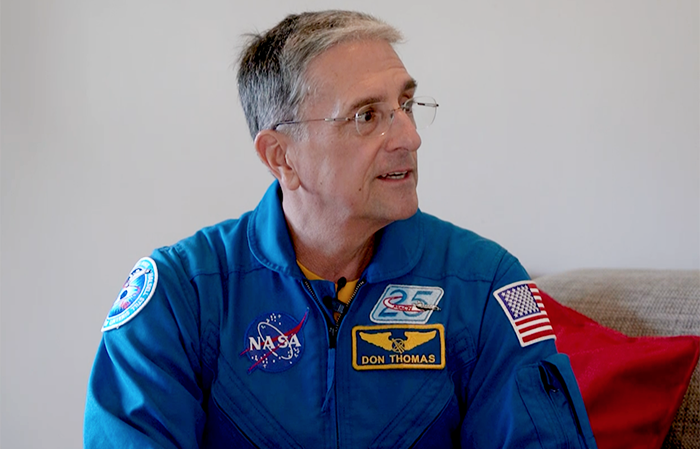 Former NASA astronaut visits Cape Town