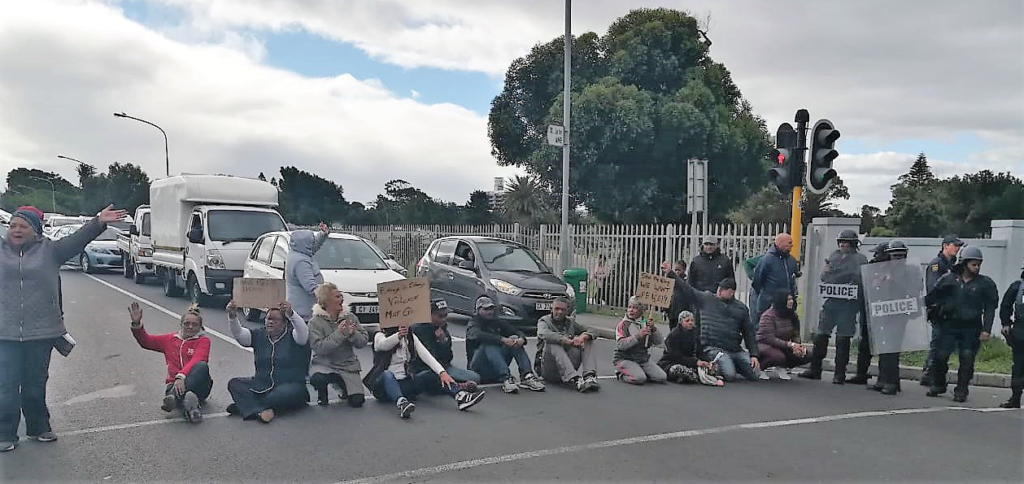 PICTURES: Eight arrested after 'Total Shutdown'