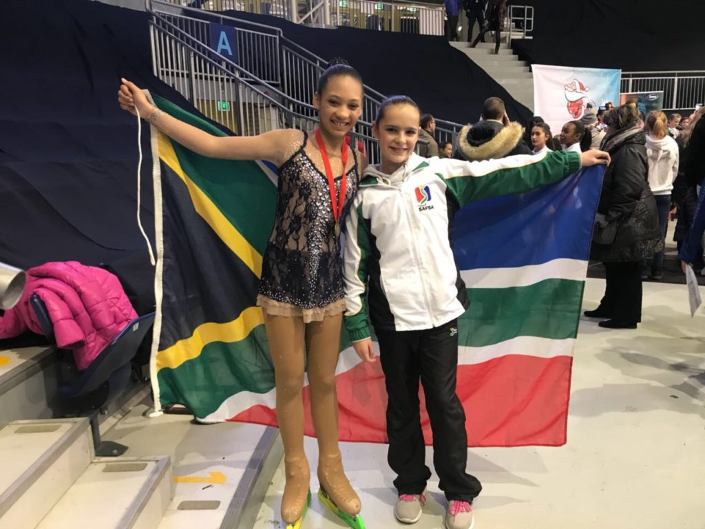 Capetonian ice skating star on the rise
