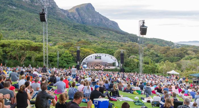 Kirstenbosch summer concert lineup announced