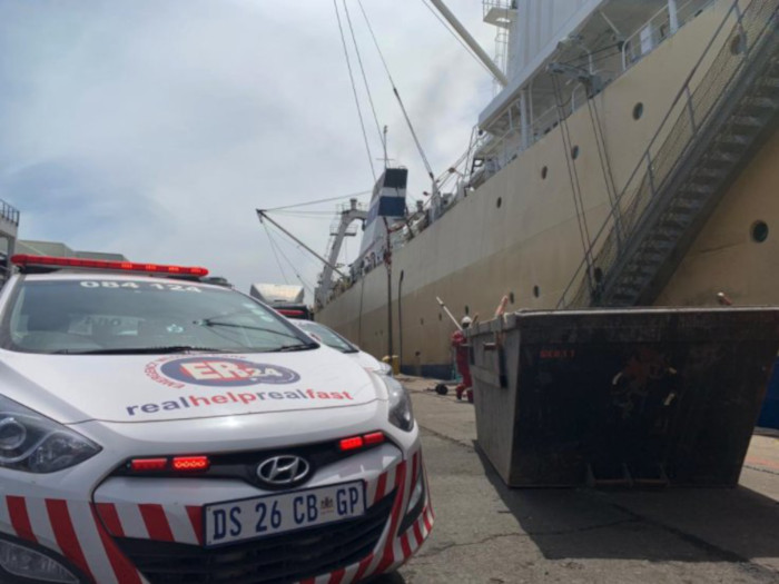 Young man dies in freak accident at harbour