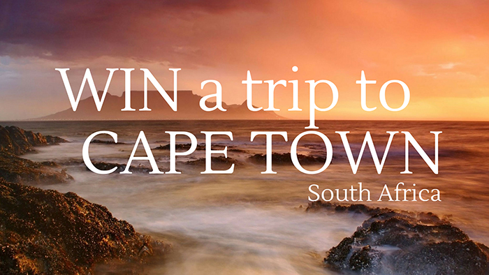 Win an all-inclusive 7-day trip to Cape Town