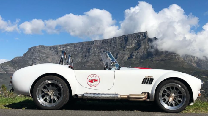 Cruise Cape Town in a Cobra