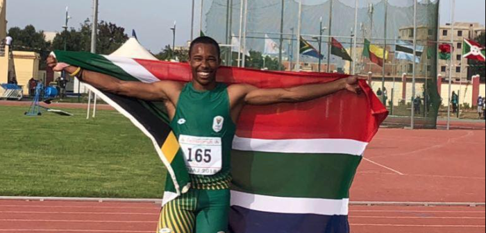 Capetonian takes home gold at Youth Olympics