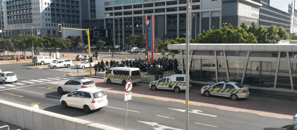 Five MyCiti strikers arrested