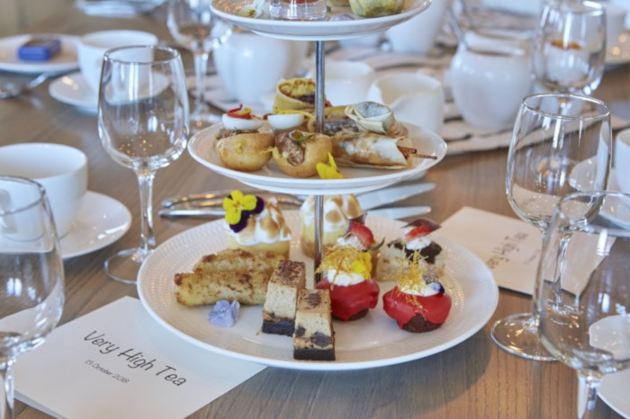 Experience high tea on top of Table Mountain