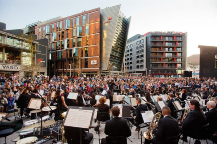 Free concerts at the V&A Waterfront Silo District