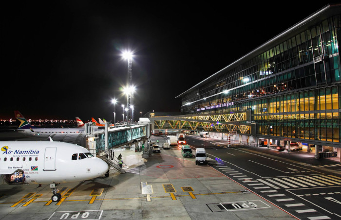 Emergency drill at Cape Town International Airport