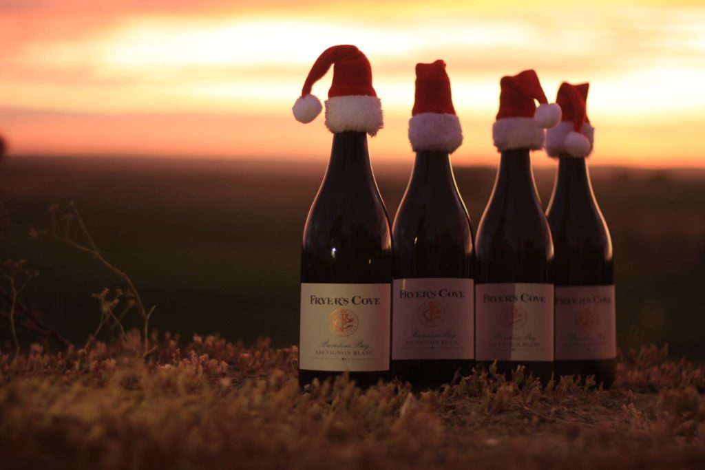 ChristmasETC: Winner of 6 bottles of Fryer's Cove wine