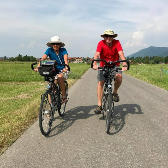Local couple cycles from Amsterdam to Cape Town