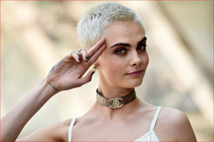 Cara Delevingne films in Cape Town