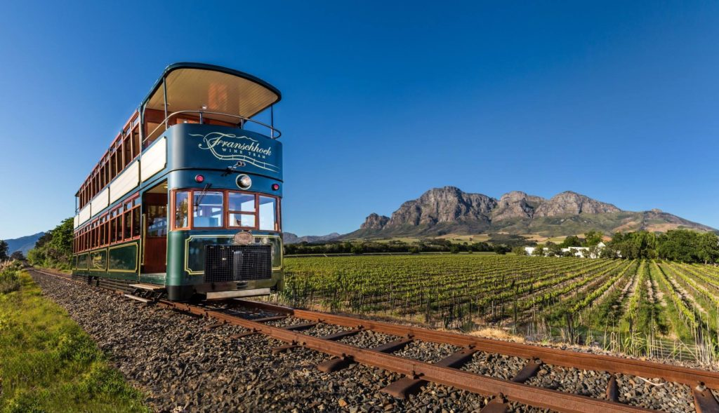 Franschhoek Wine Tram adds two new lines