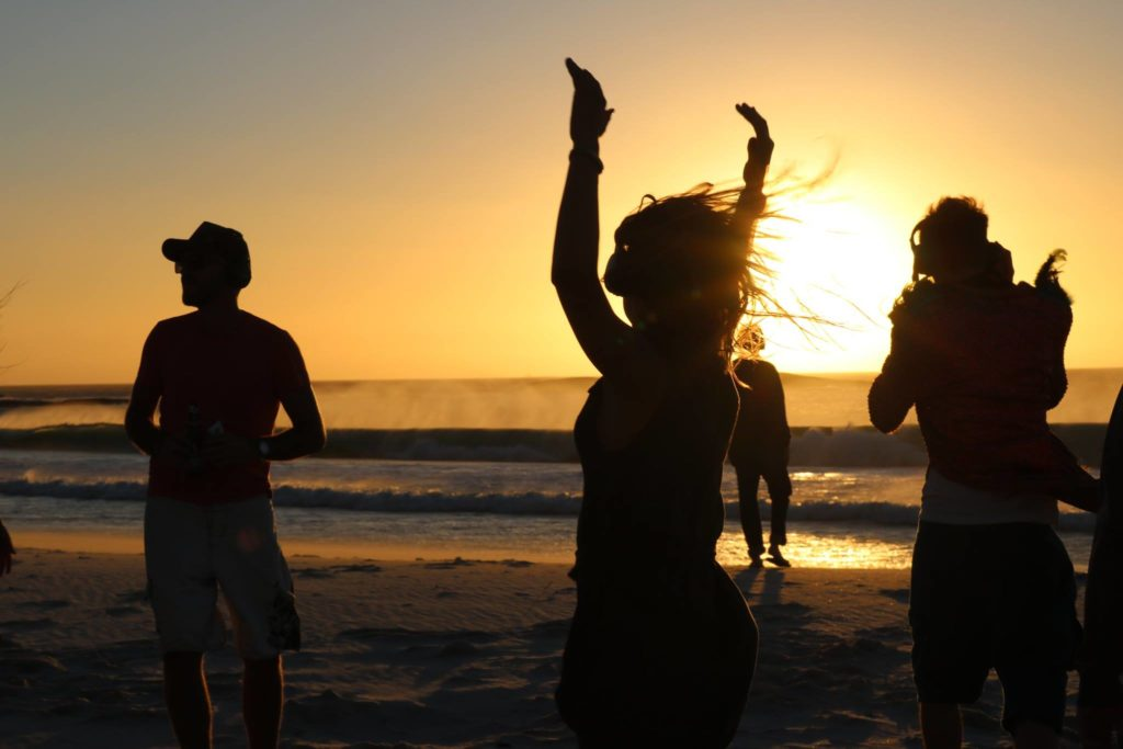 Camps Bay Sunset Silent Disco