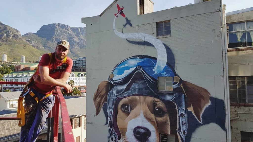 A walking tour of Cape Town's street art