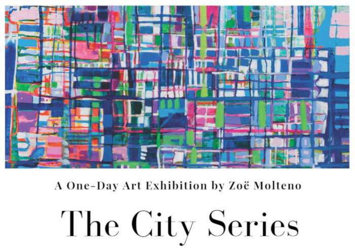 One day art exhibition by Zoë Molteno