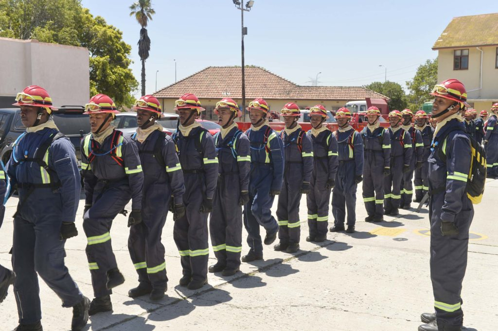 City welcomes new seasonal firefighters
