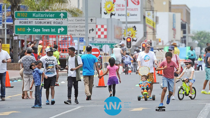 Frolick freely in Bellville's Open Streets