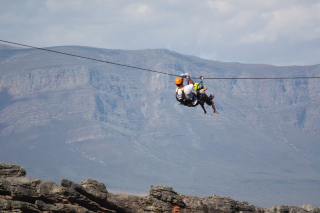ChristmasETC: Winners of a Ceres Zipline adventure