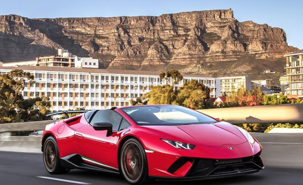 Lamborghini loves Cape Town
