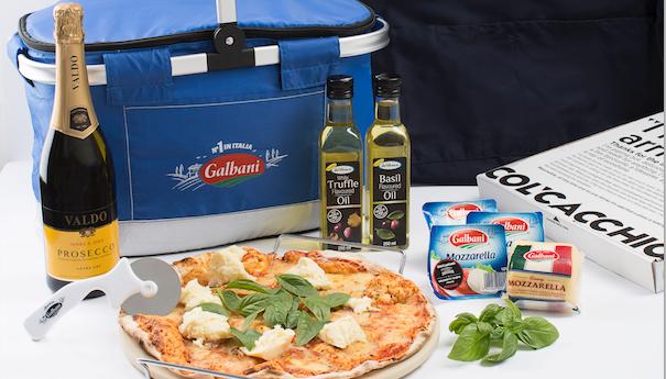 WIN: A Galbani pizza-making hamper (closed)