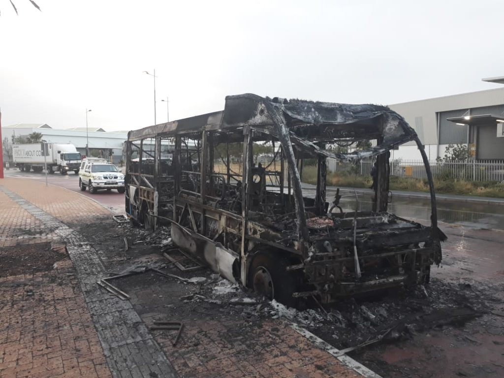 MyCiti bus torchings: a new arson trend?