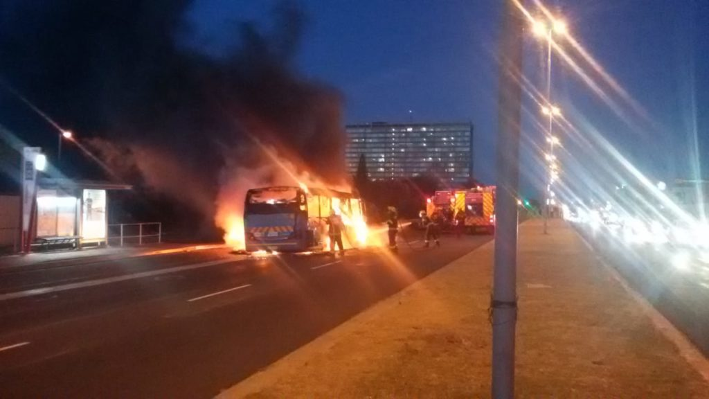 PICTURES: Another MyCiti bus torched in Milnerton