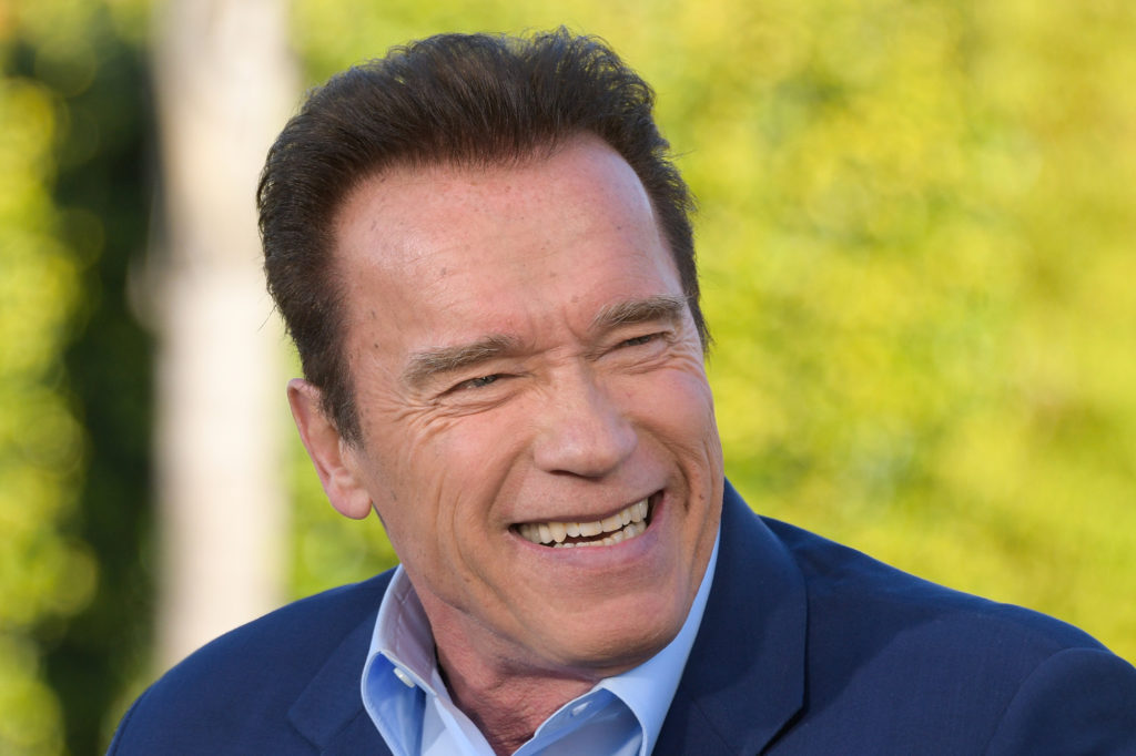 Arnold Schwarzenegger comes to the Mother City