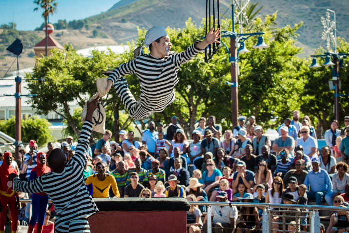 Free Zip Zap Circus shows at V&A Waterfront