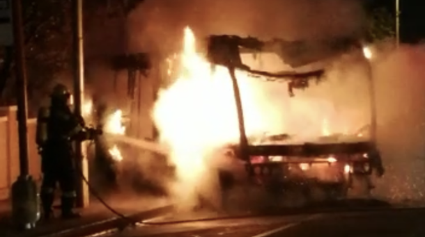 WATCH: MyCiti bus petrol bombed
