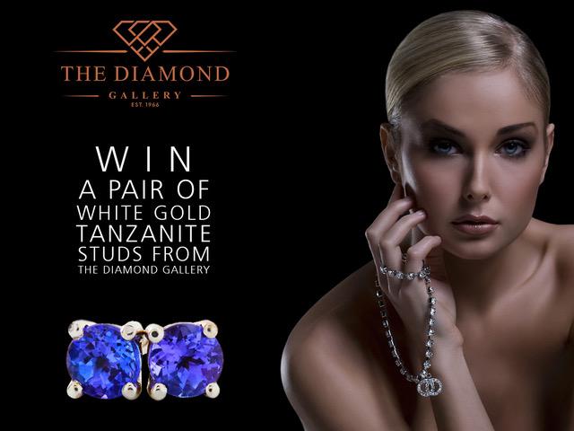 ChristmasETC: Win a pair of 18ct diamond earrings