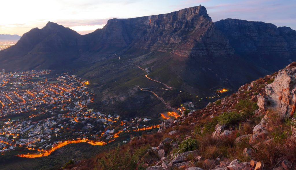 The natural beauty of Western Cape Mountain ranges