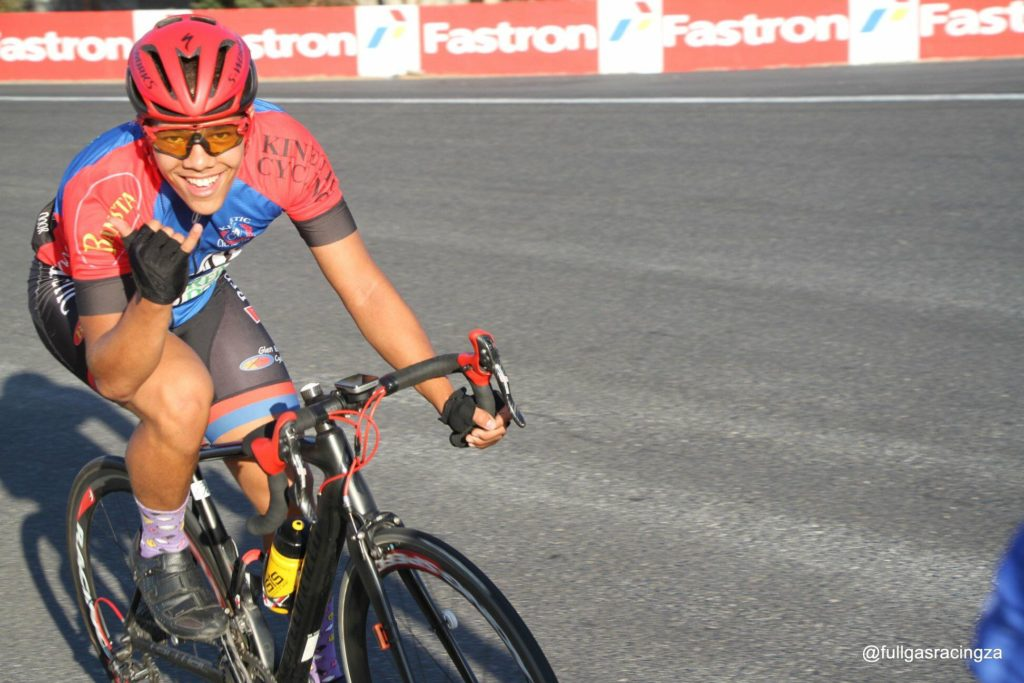 Young cyclists make Cape Town proud
