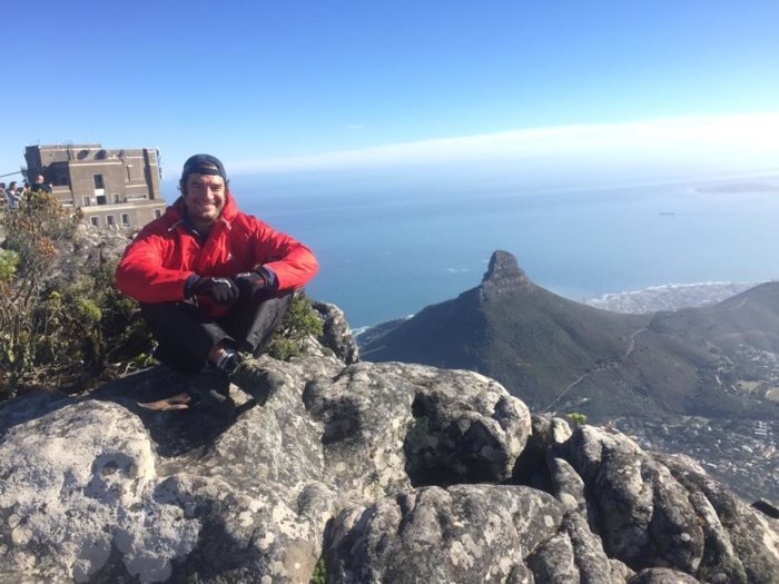 Local climbs Table Mountain 365 times