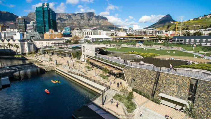 Battery Park at the V&A Waterfront complete