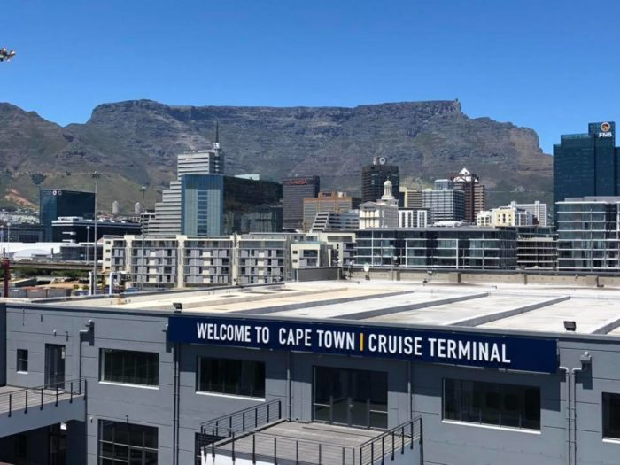 Economic opportunity cruises into Cape Town