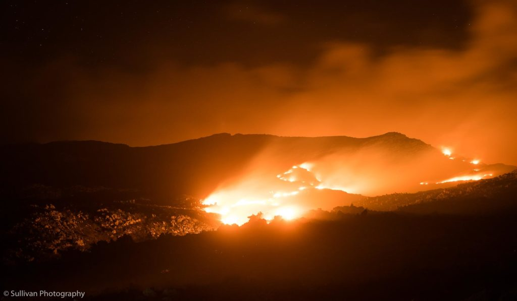 PICTURES: Overberg fire still burning