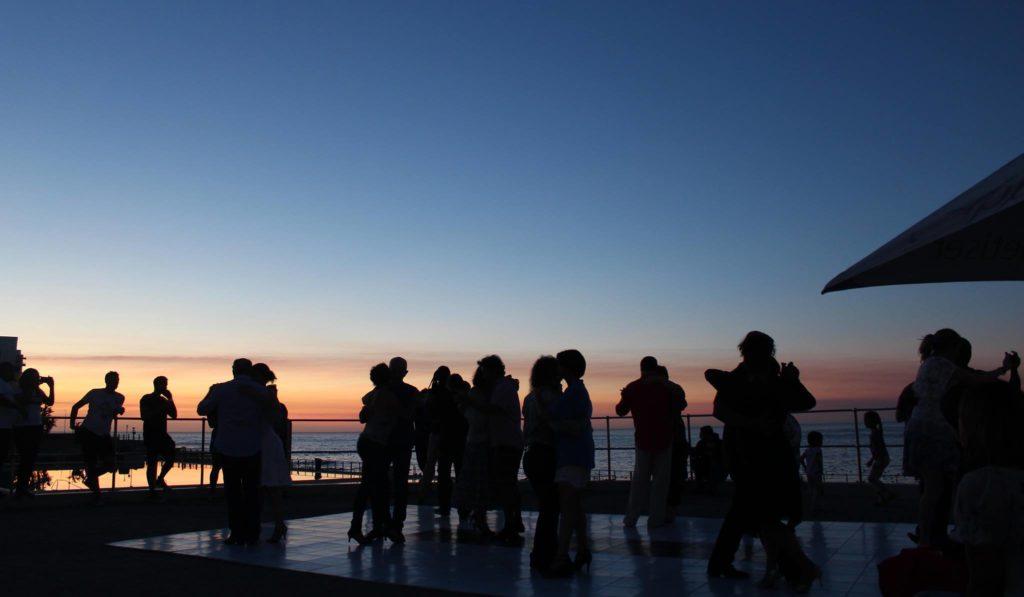 Sunset Tango at Sea Point Pavilion